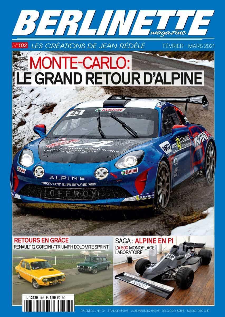Le prochaine numéro de Berlinette Magazine